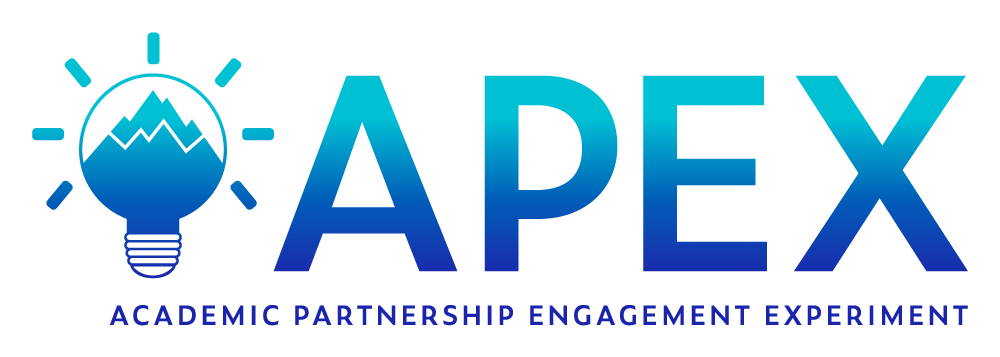 APEX home page