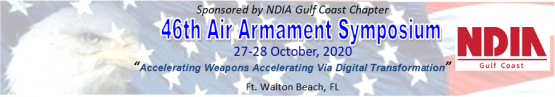 2020 Air Armament Symposium event banner