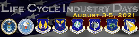 Air Force Life Cycle Management Center (AFLCMC) Life Cycle Industry Days (LCID) event banner