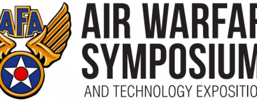 2020 Air Warfare Symposium event banner